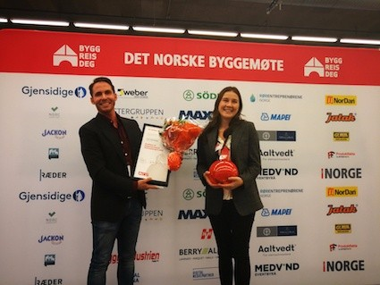 HeatWork vann prestigefylld innovationspris i Norge